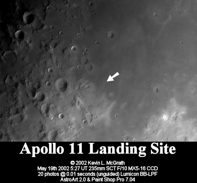 apollo 11 landing site earth - photo #23